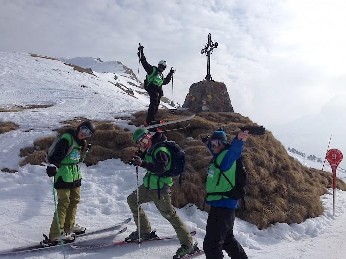 Morzine Chalet Company Mountain Mavericks wins The Alpine Challenge