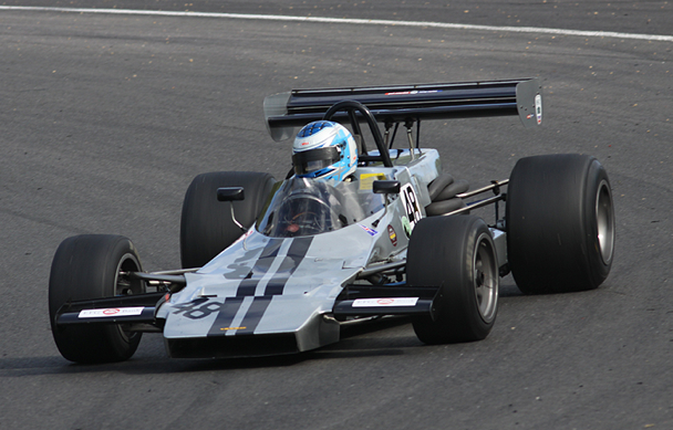 F2 -Formula 2 Historic racing Cars around the nuerburgring
