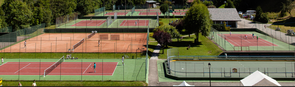 Tennis Courts in Morzine