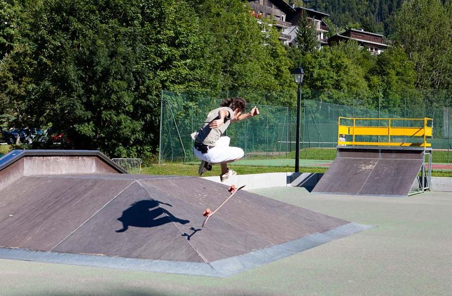 Skate Park in Morzine!