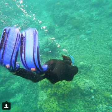Littlemissmuffet21 Scuba diving in Oz! (via instagram)