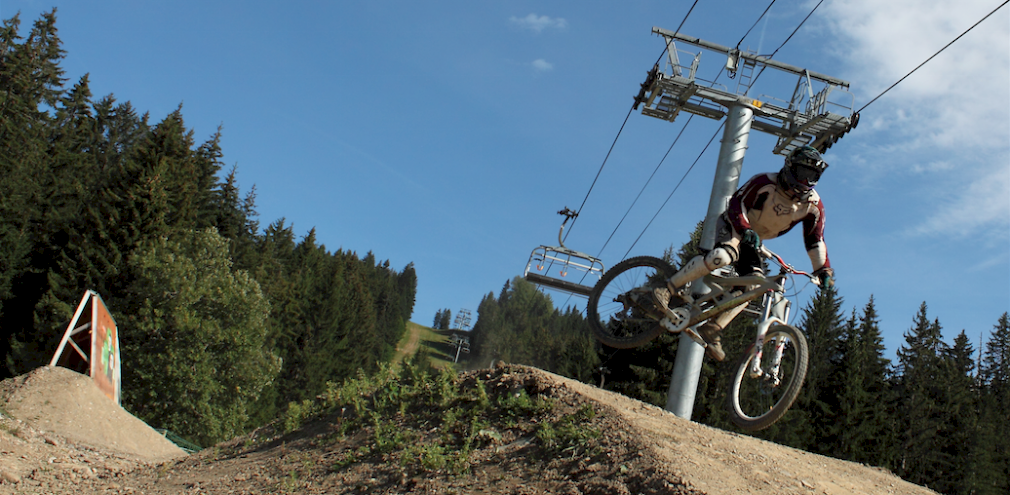 L'Aubergade Hotel Pleney hotel - Morzine Mountain Bike