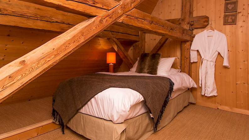 Single Bed in Morzine Chalet Ski Holiday