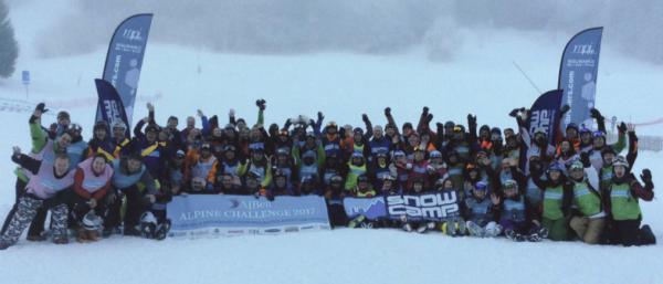 Snow-Camp alpine challenge