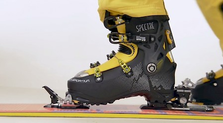 Ski touring boot