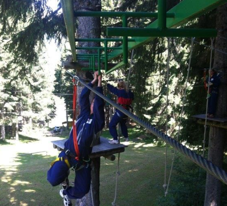 Treetop Adventures in Les Gets is the perfect family activity