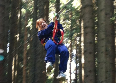 Treetop Adventure in Les Gets | Activities in France