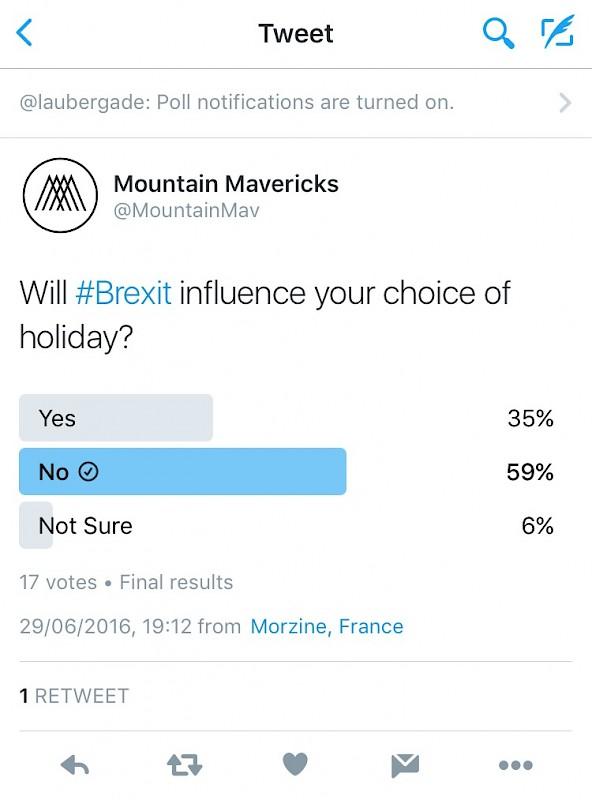 Will Brexit impact your holiday choice? Mountain Mavericks