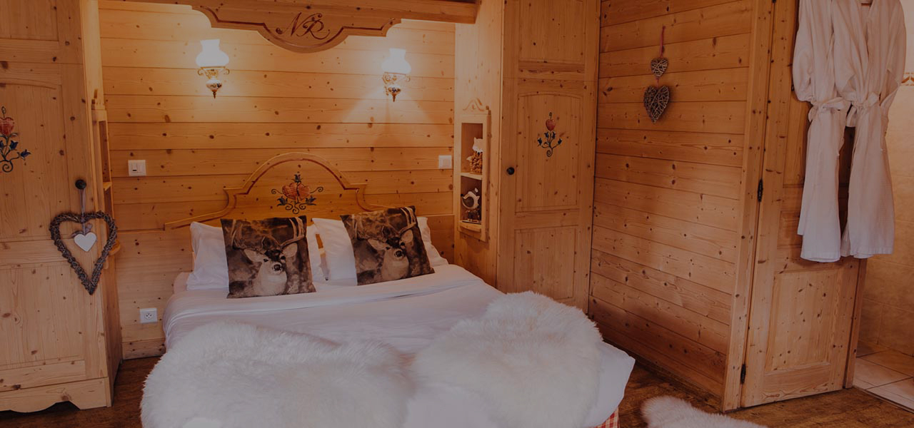 Mazot accommodations at hotel La Kinkerne in Morzine
