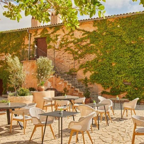 The Zoetry Mallorca - 14th century manor hotel - outside dinning
