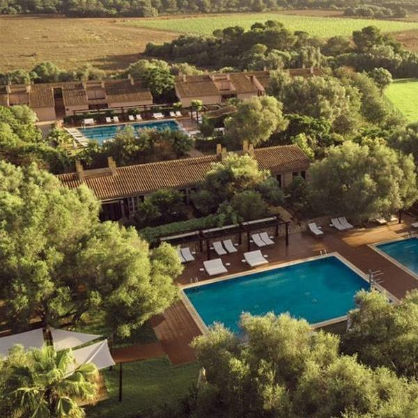 The Zoetry Mallorca - 14th century manor hotel- arial